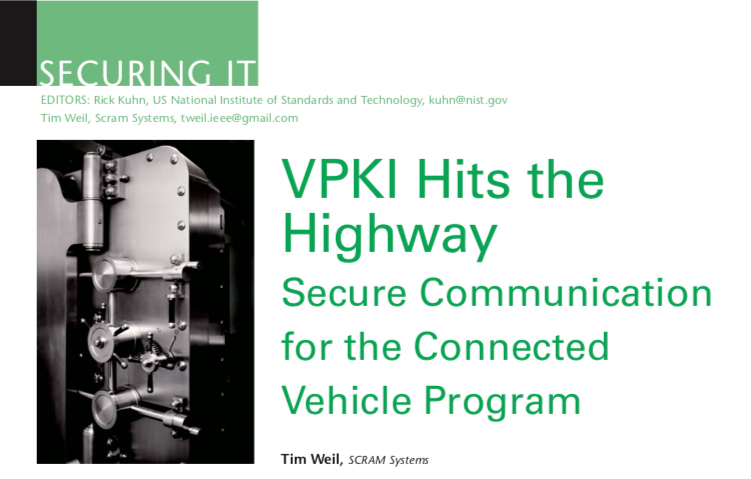 VPKI Hits the Highway
